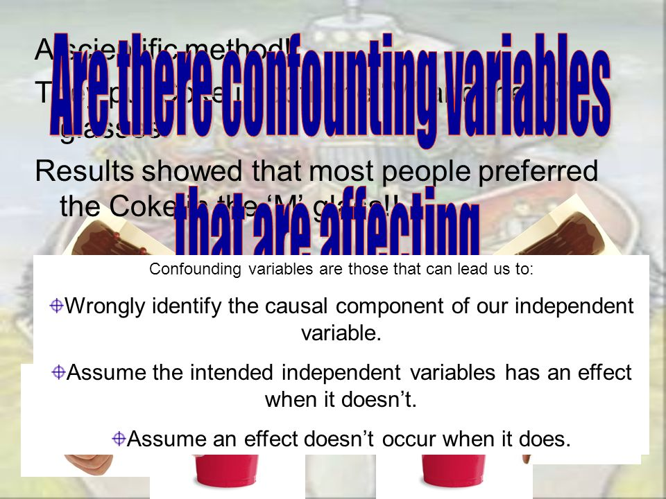 Are there confounting variables that are affecting your results