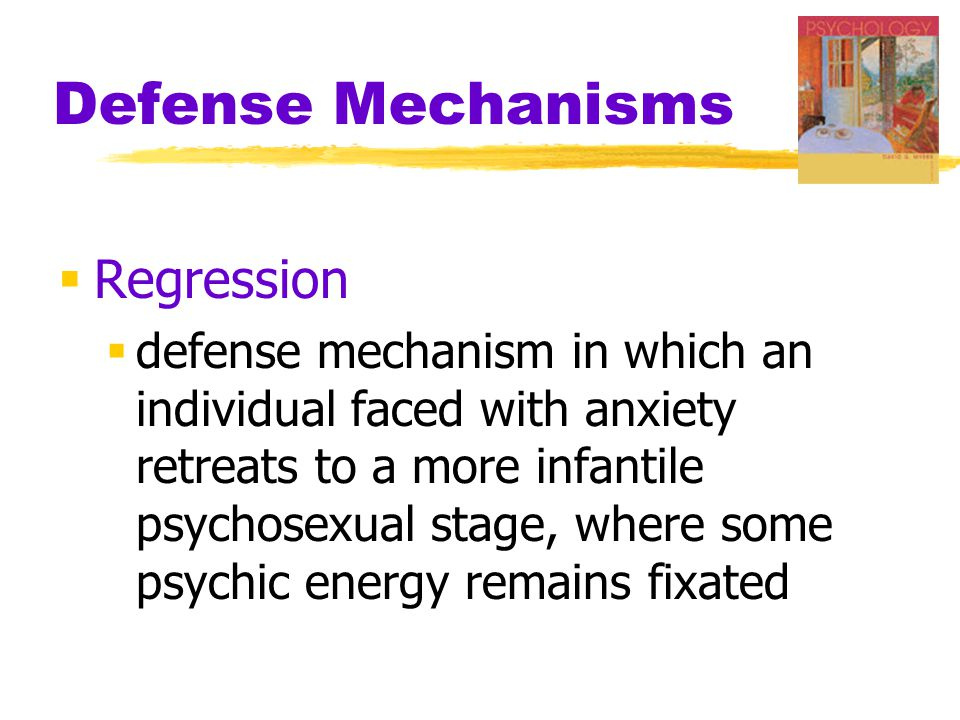 Defense Mechanisms Regression