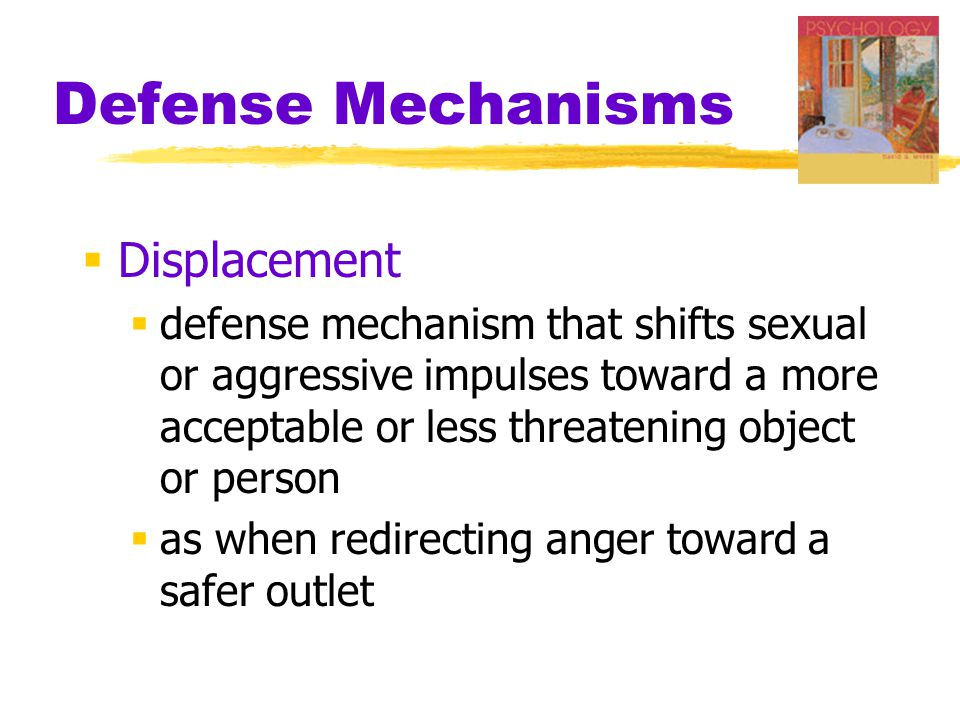 Defense Mechanisms Displacement