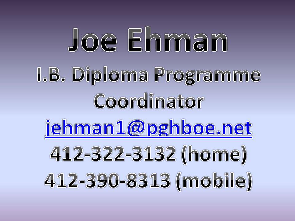 I.B. Diploma Programme Coordinator