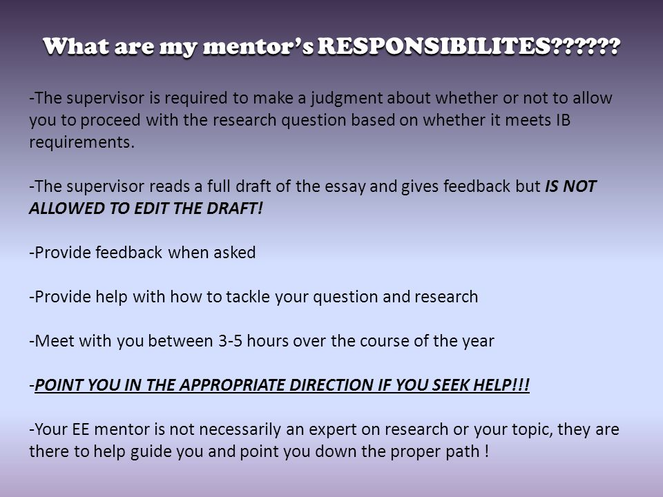 essay about mentor Mentor essaysa mentor is someone who educates, instructs and inspires another person through their past experience someone who had been a significant mentor in my life was my grandmother vera y.
