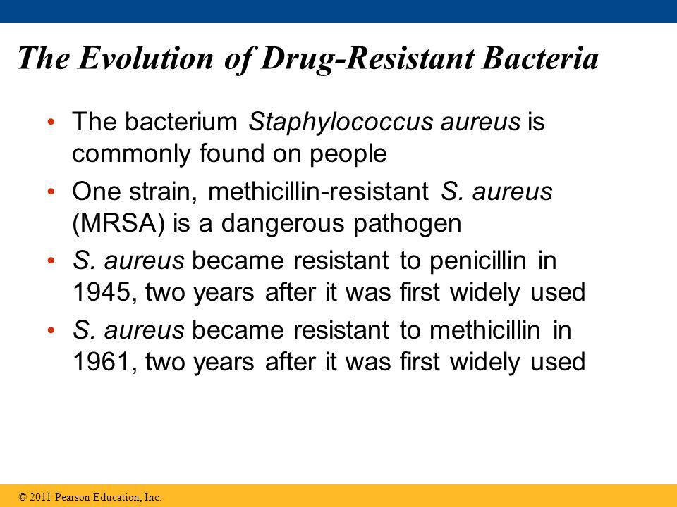 The Evolution of Drug-Resistant Bacteria