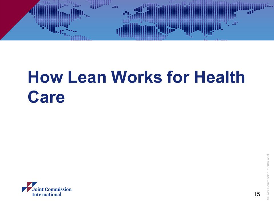 How Lean Works for Health Care