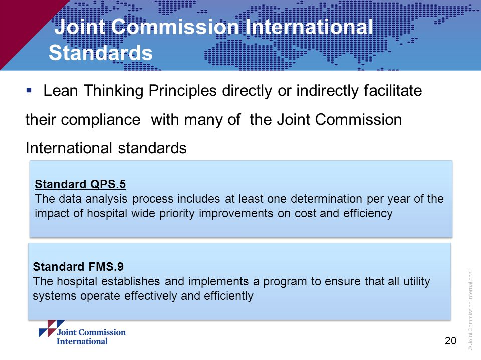 Joint Commission International Standards