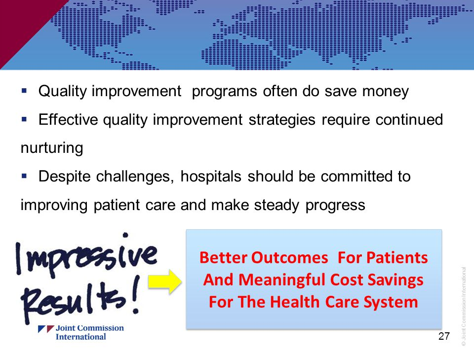 Quality improvement programs often do save money