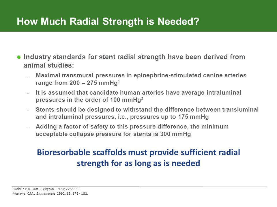 How Much Radial Strength is Needed