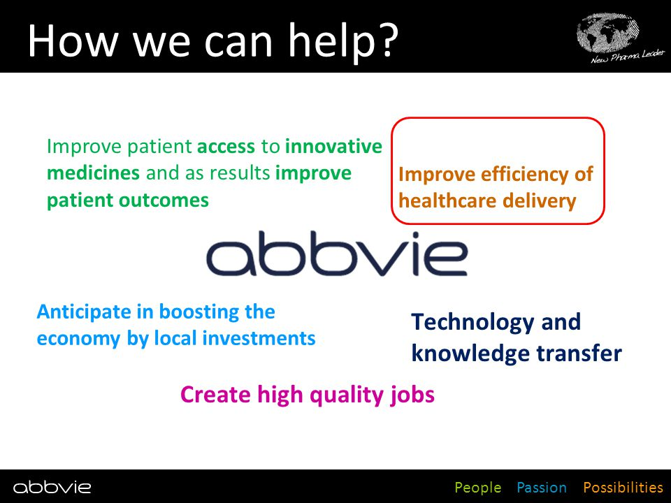 How we can help Technology and knowledge transfer