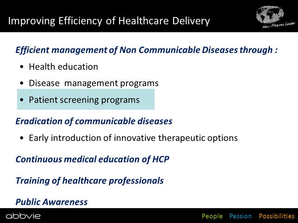 Improving Efficiency of Healthcare Delivery