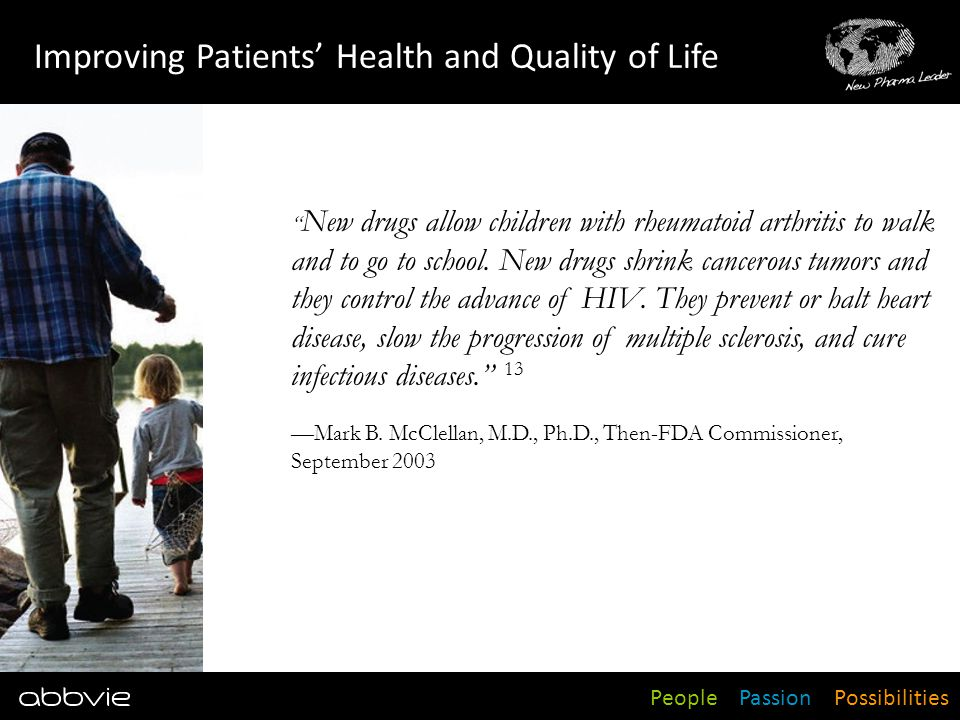 Improving Patients' Health and Quality of Life