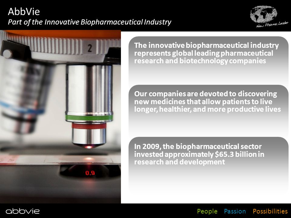 AbbVie Part of the Innovative Biopharmaceutical Industry