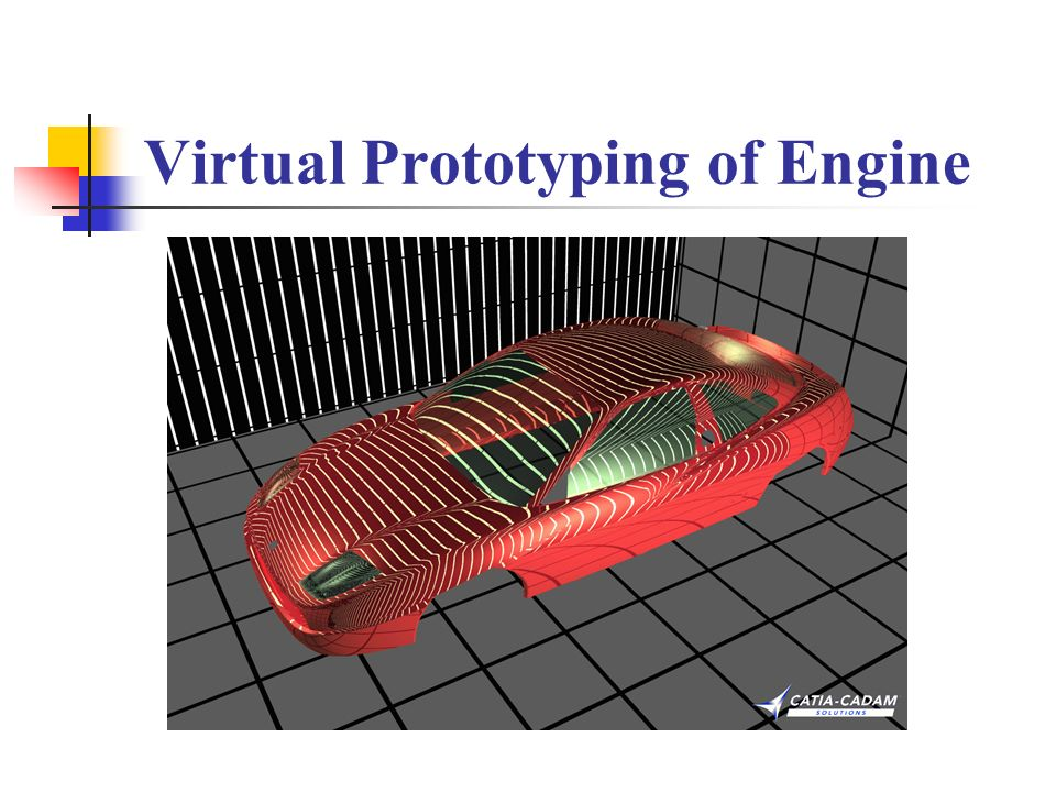 Virtual Prototyping of Engine
