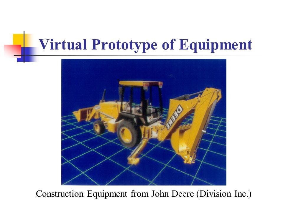 Virtual Prototype of Equipment