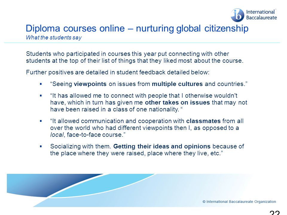 Diploma courses online – nurturing global citizenship