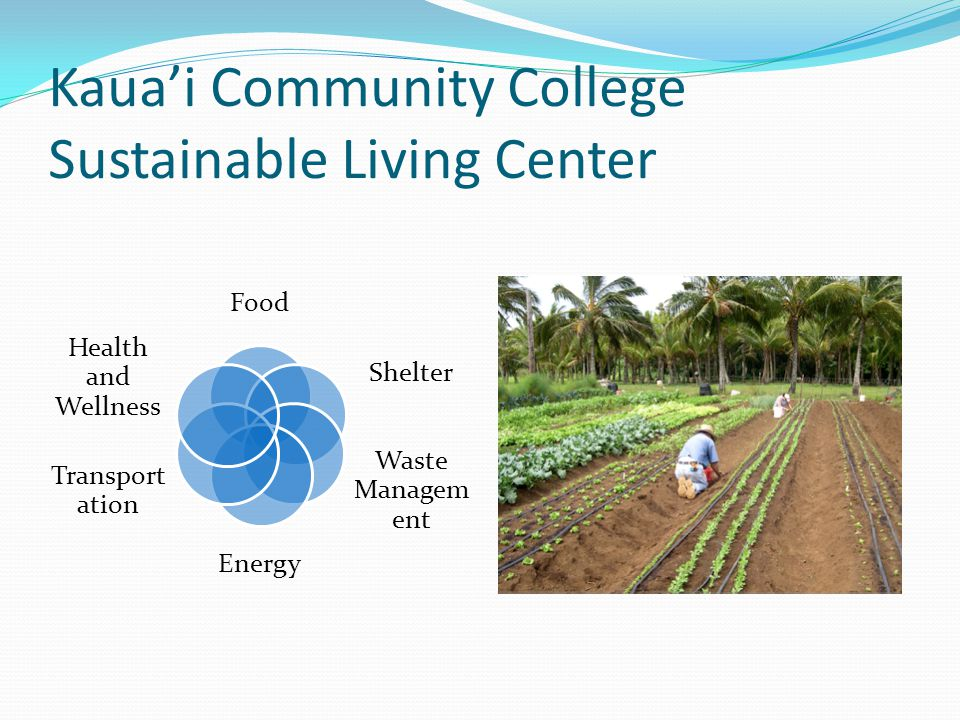 Kaua'i Community College Sustainable Living Center