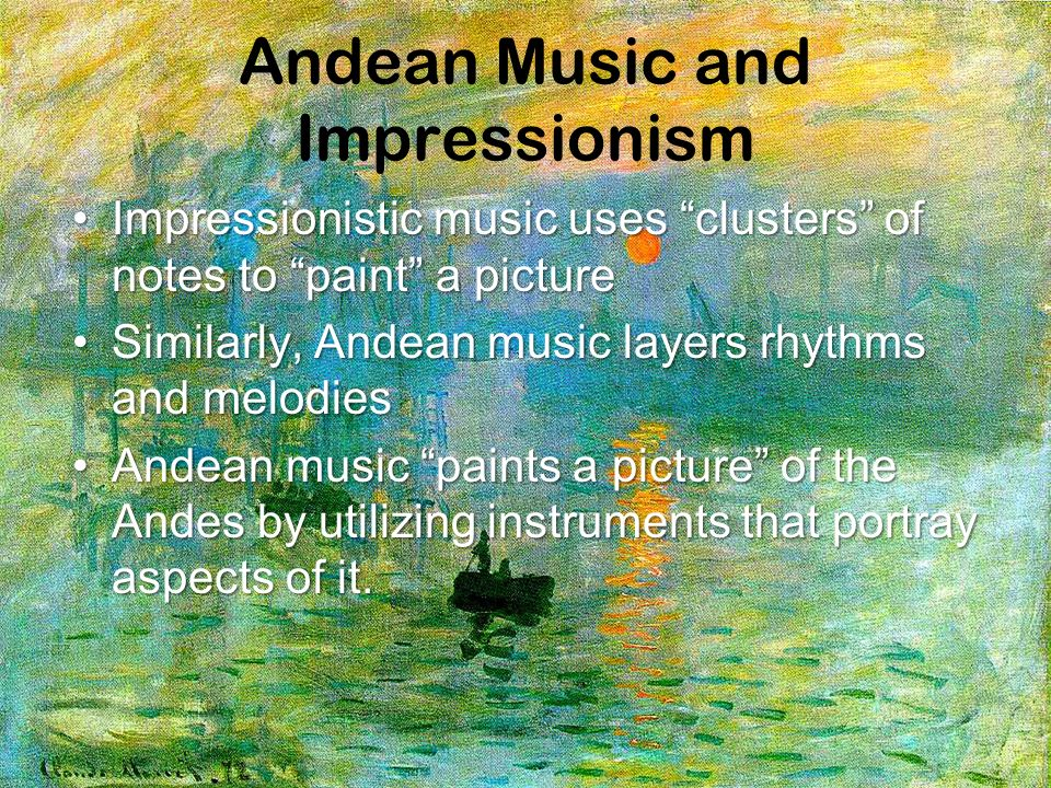 Andean Music and Impressionism