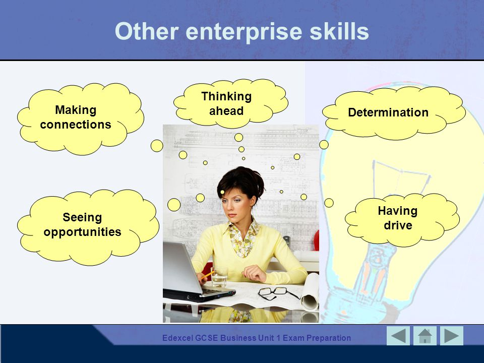Other enterprise skills