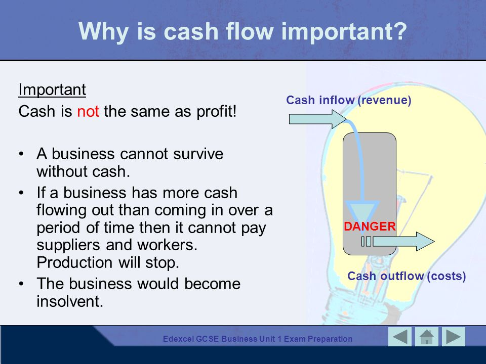 Why is cash flow important