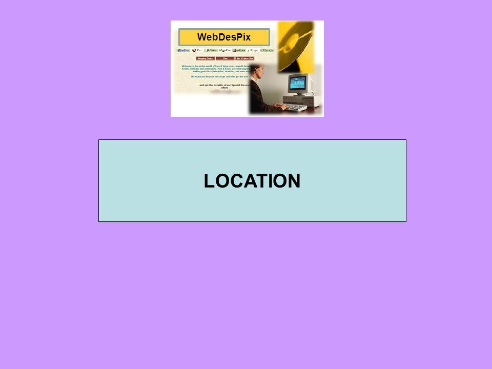 WebDesPix LOCATION