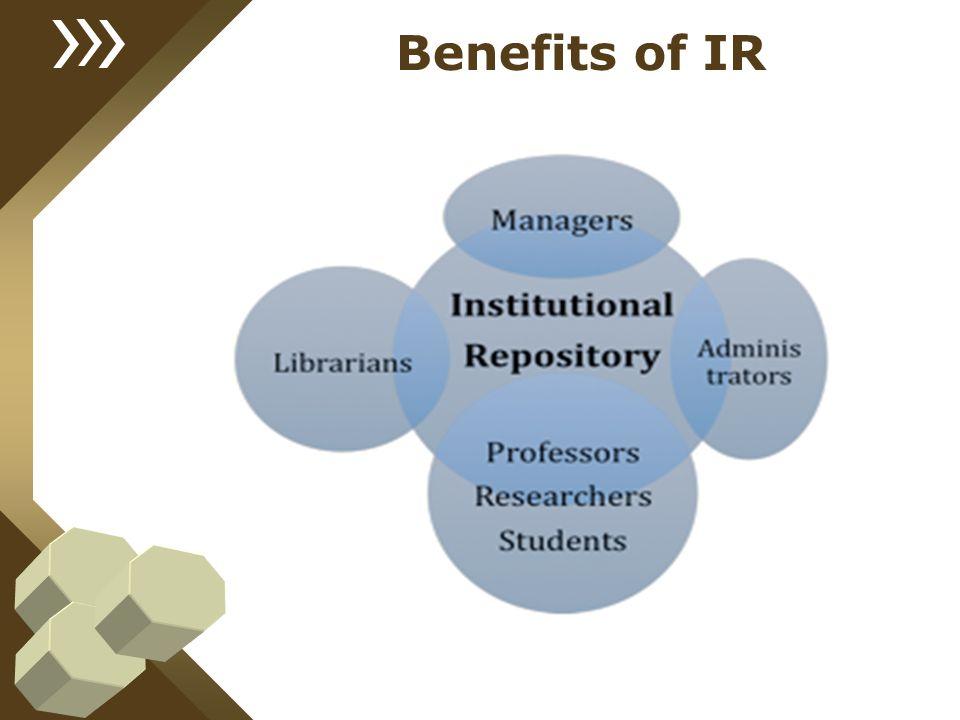 Benefits of IR