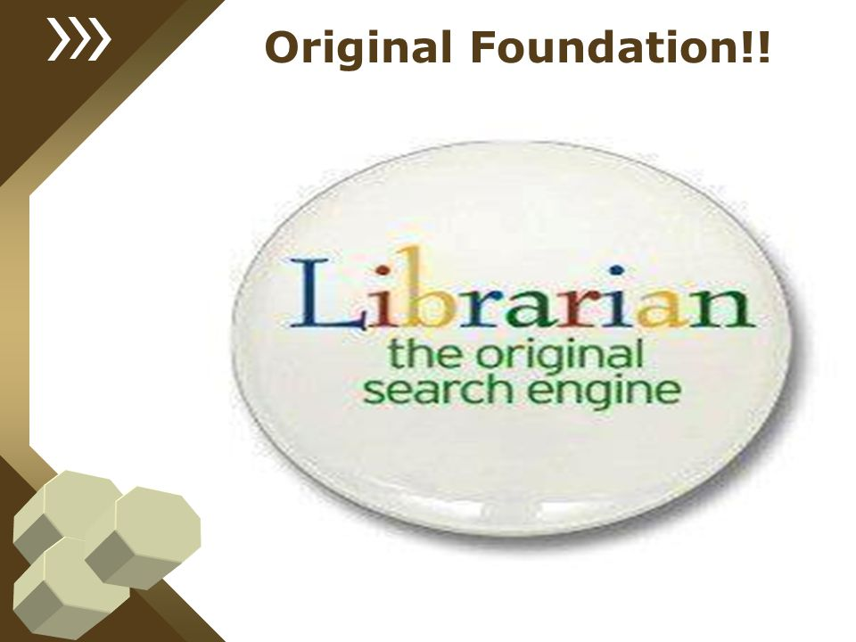 Original Foundation!!
