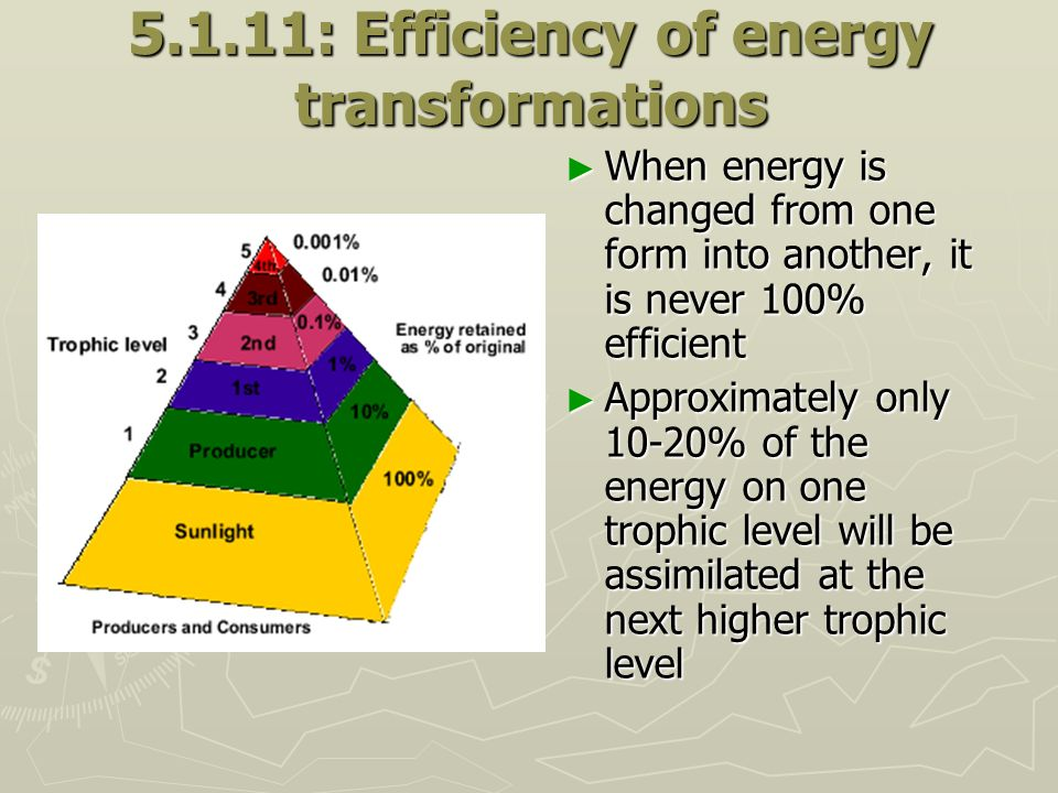 5.1.11: Efficiency of energy transformations