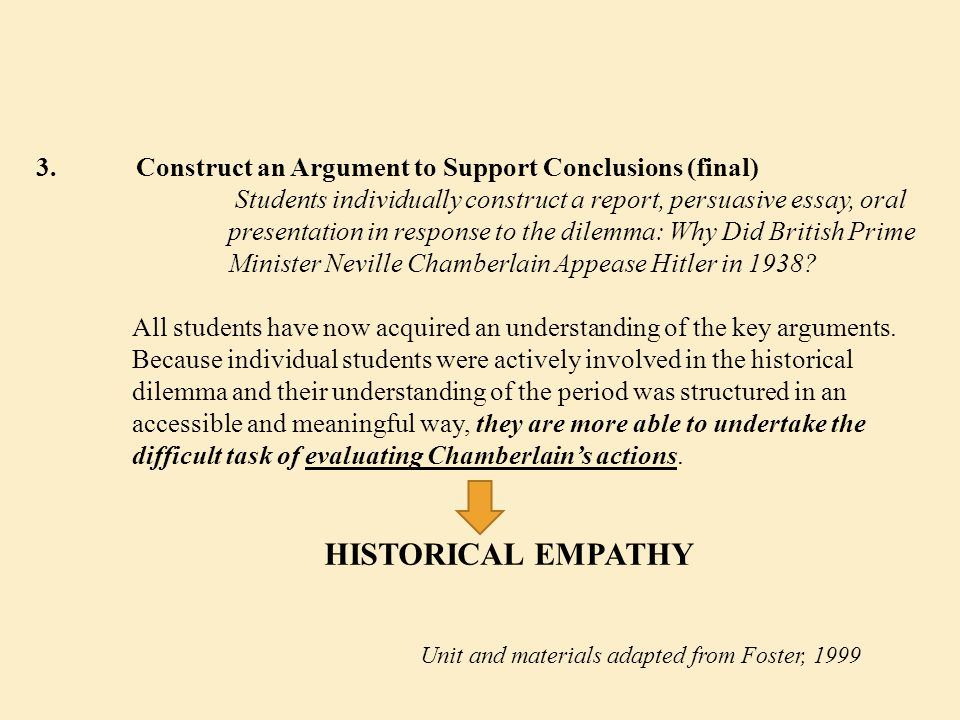 3. Construct an Argument to Support Conclusions (final)