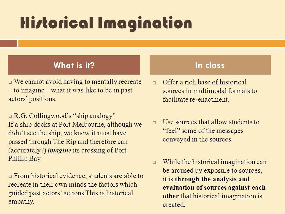 Historical Imagination