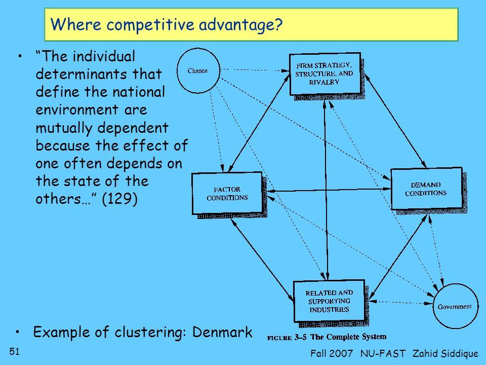 Where competitive advantage