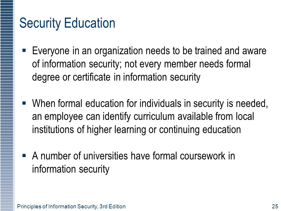 Security Education