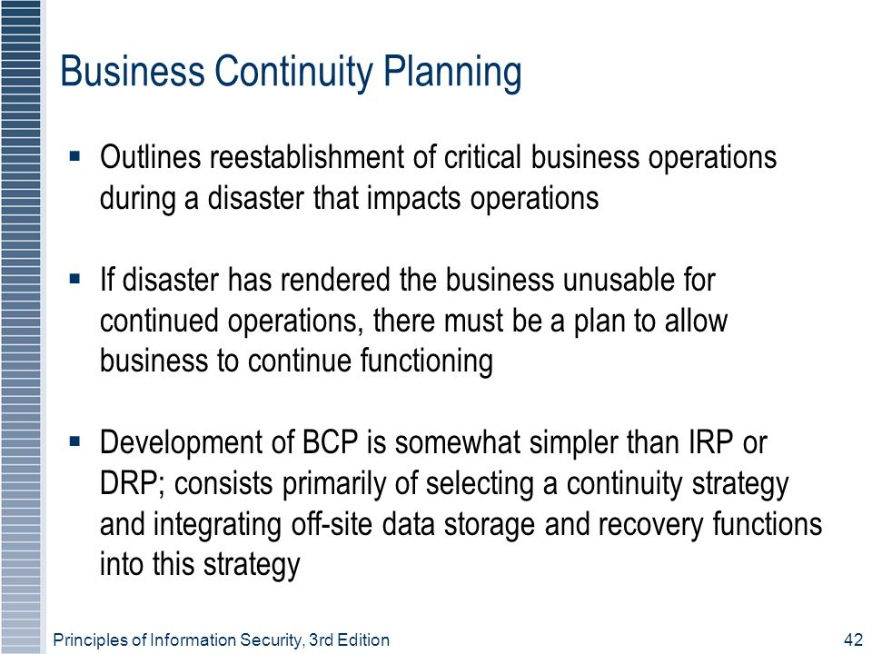 Business Continuity Plan | Ready.gov