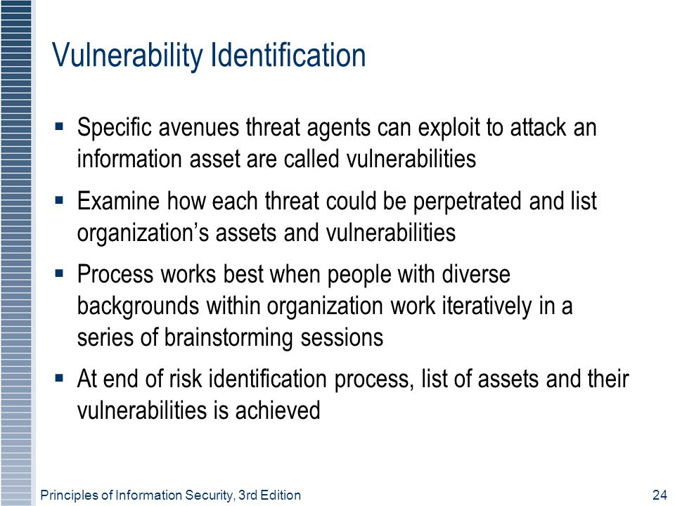 Vulnerability Identification