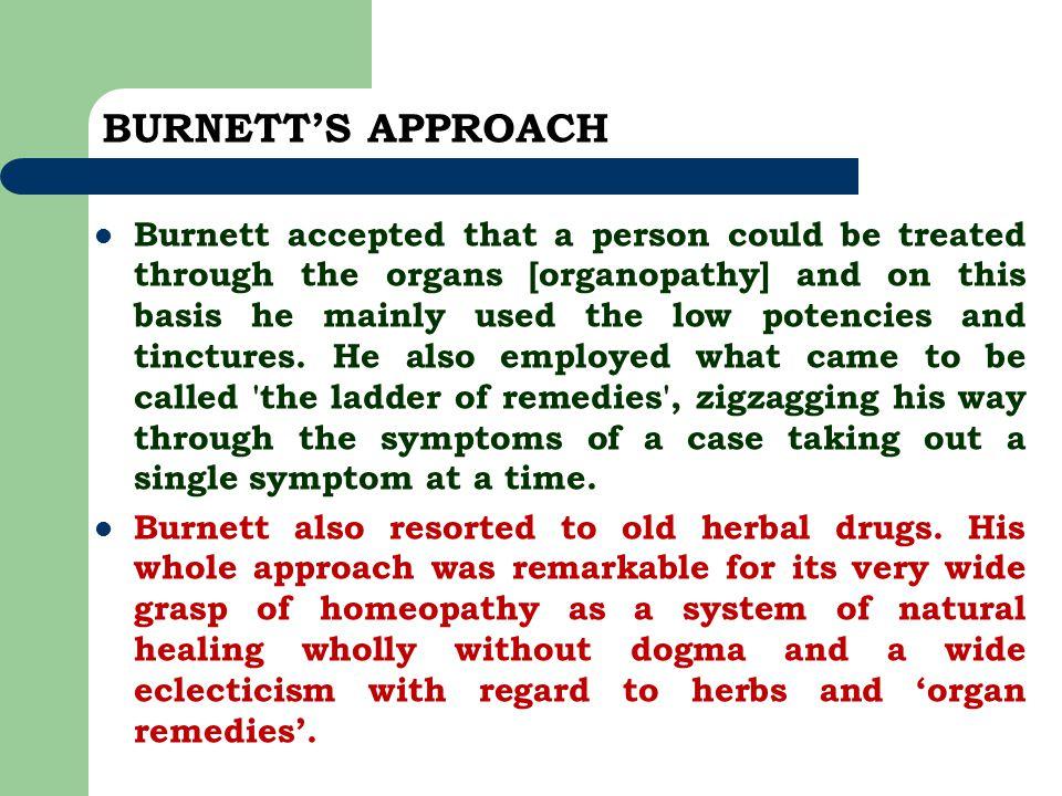 BURNETT'S APPROACH