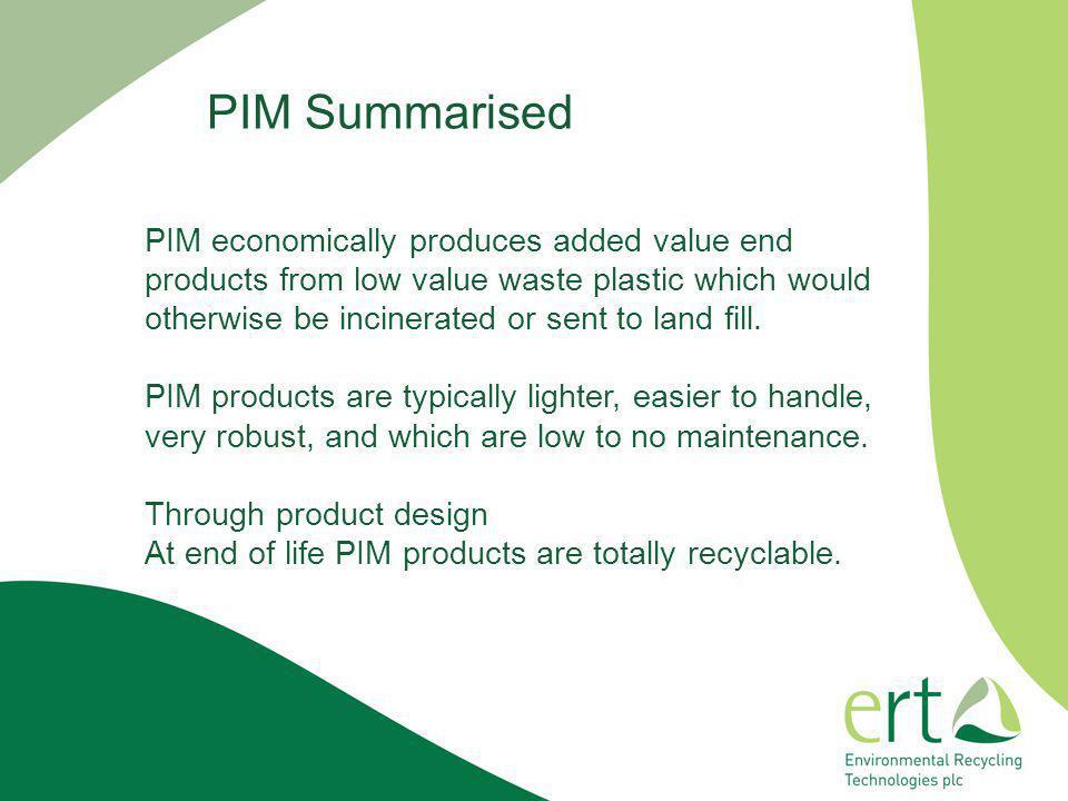 PIM Summarised