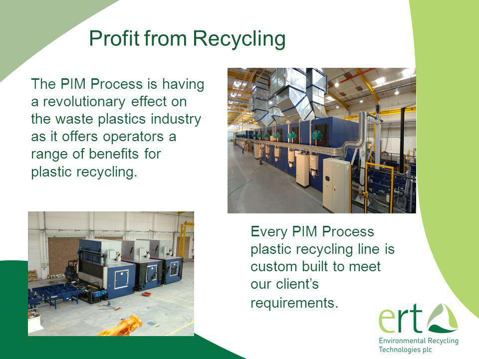 Profit from Recycling