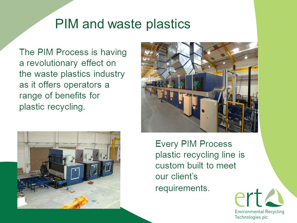 PIM and waste plastics