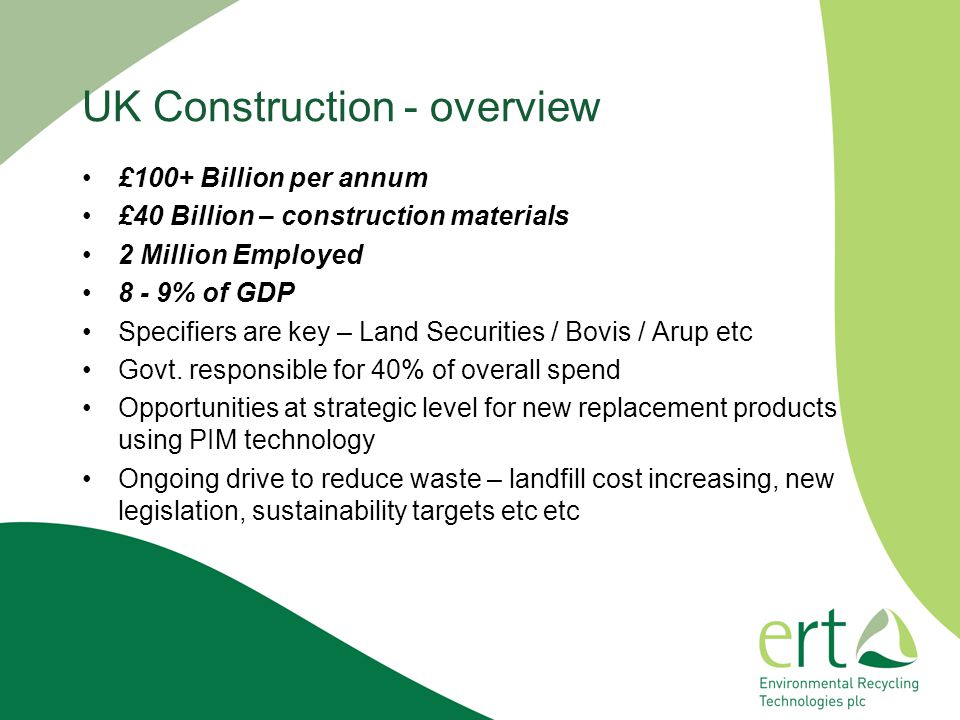 UK Construction - overview