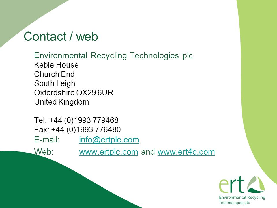 Contact / web