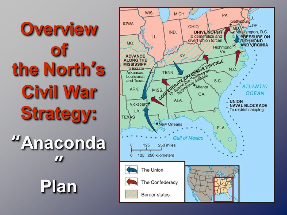 Overview of the North's Civil War Strategy: