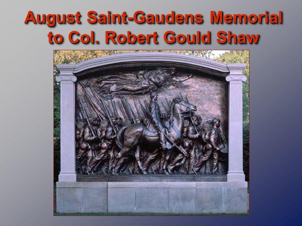 August Saint-Gaudens Memorial to Col. Robert Gould Shaw