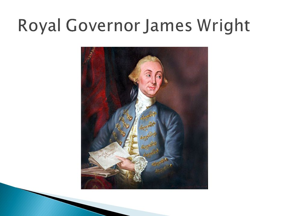 Royal Governor James Wright
