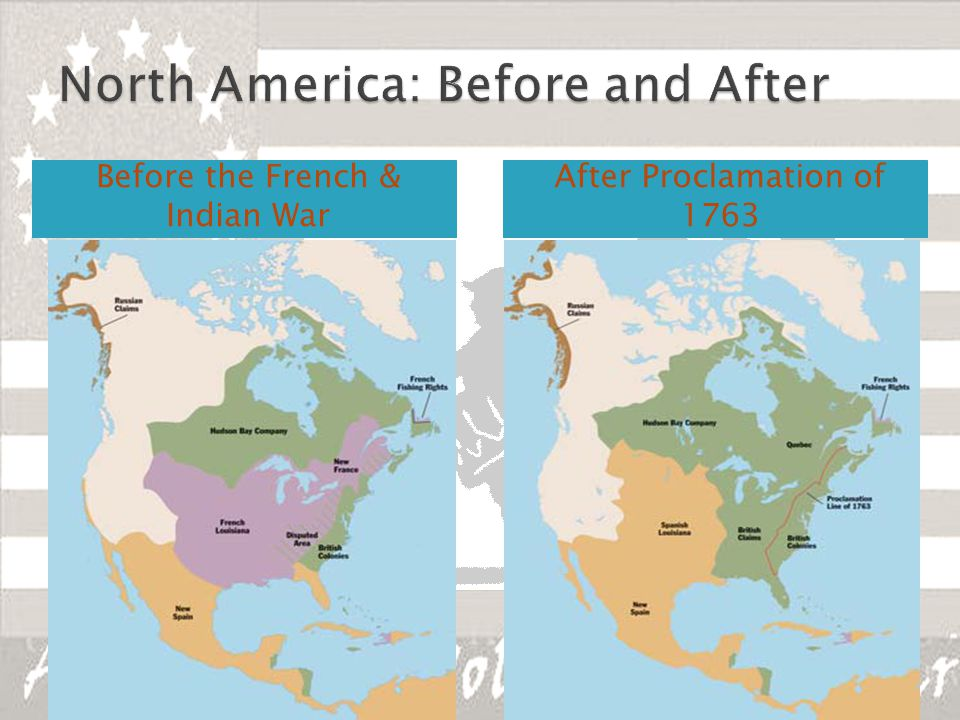 North America: Before and After