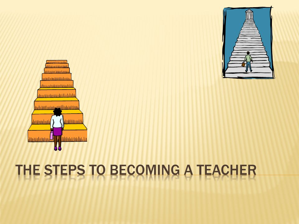 The Steps to Becoming a Teacher