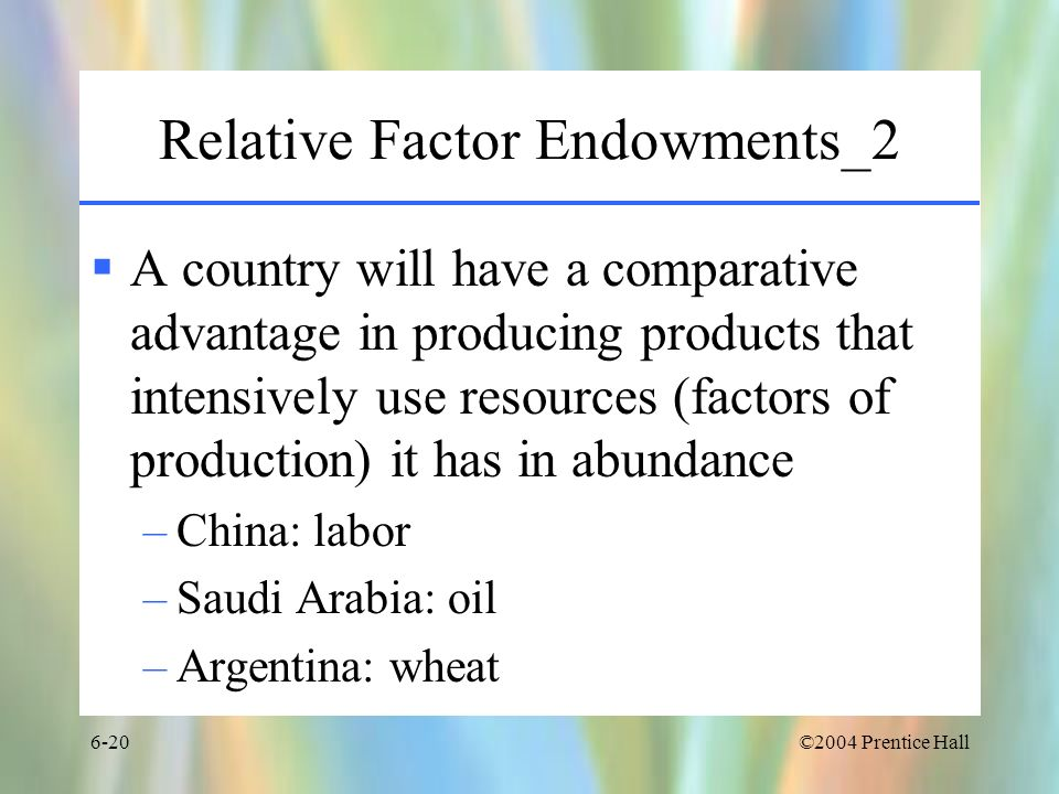 Relative Factor Endowments_2