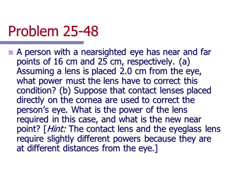 Problem 25-48