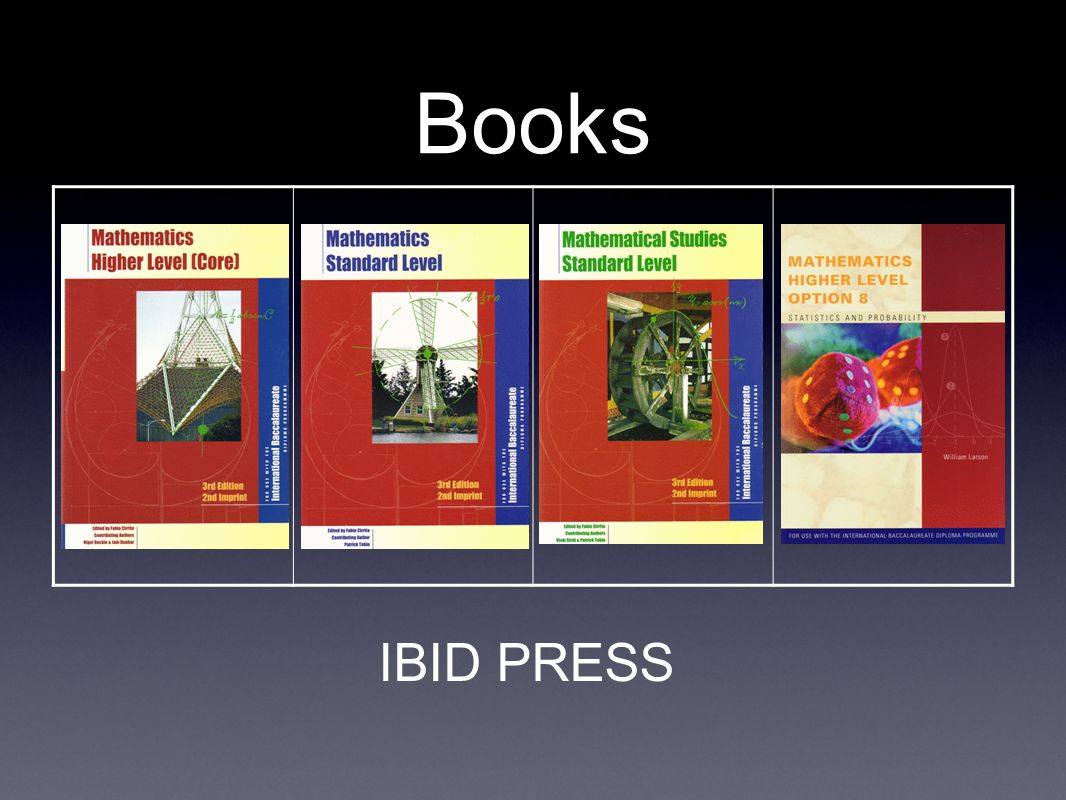 Books IBID PRESS