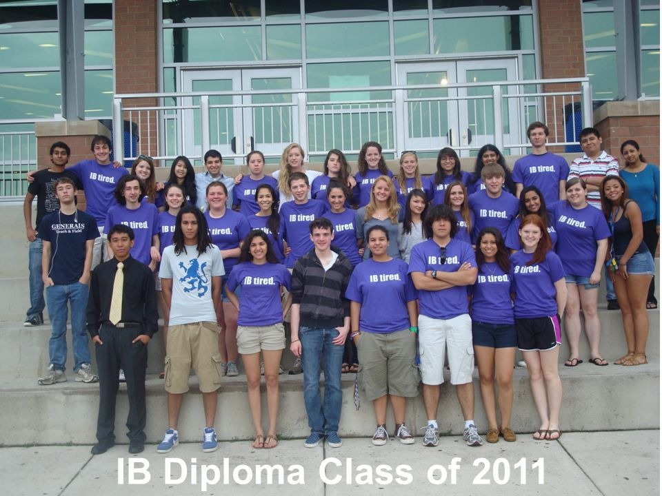 IB Diploma Class of 2011