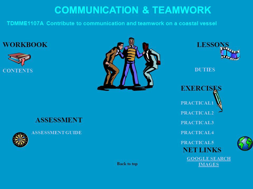 COMMUNICATION & TEAMWORK