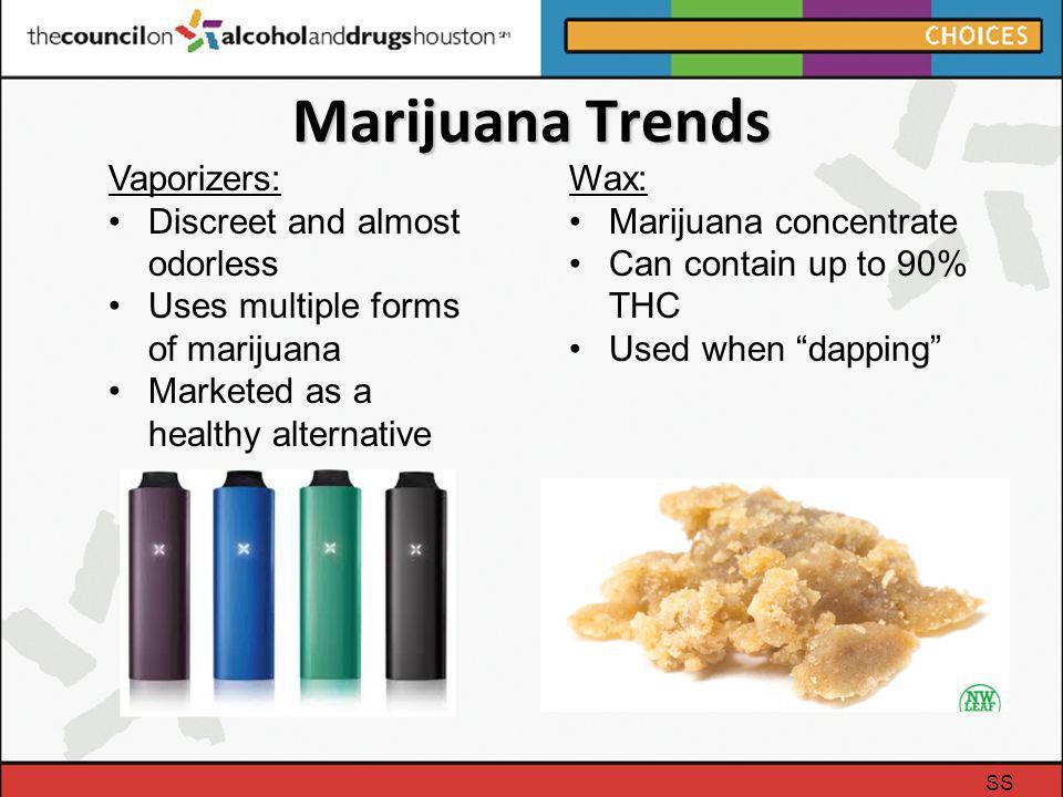 Marijuana Trends Vaporizers: Discreet and almost odorless