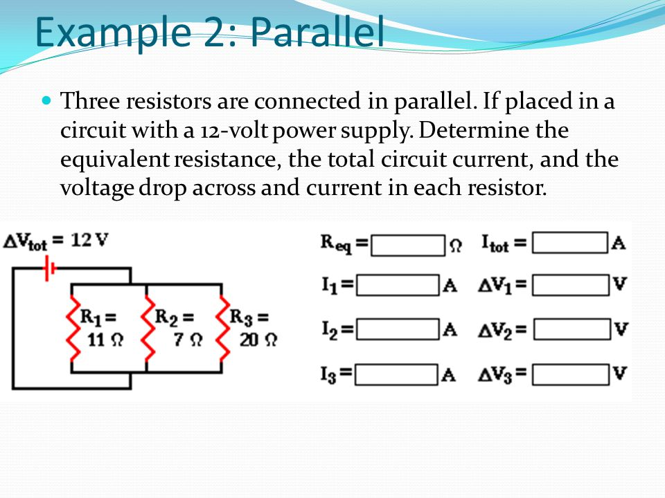 Example 2: Parallel