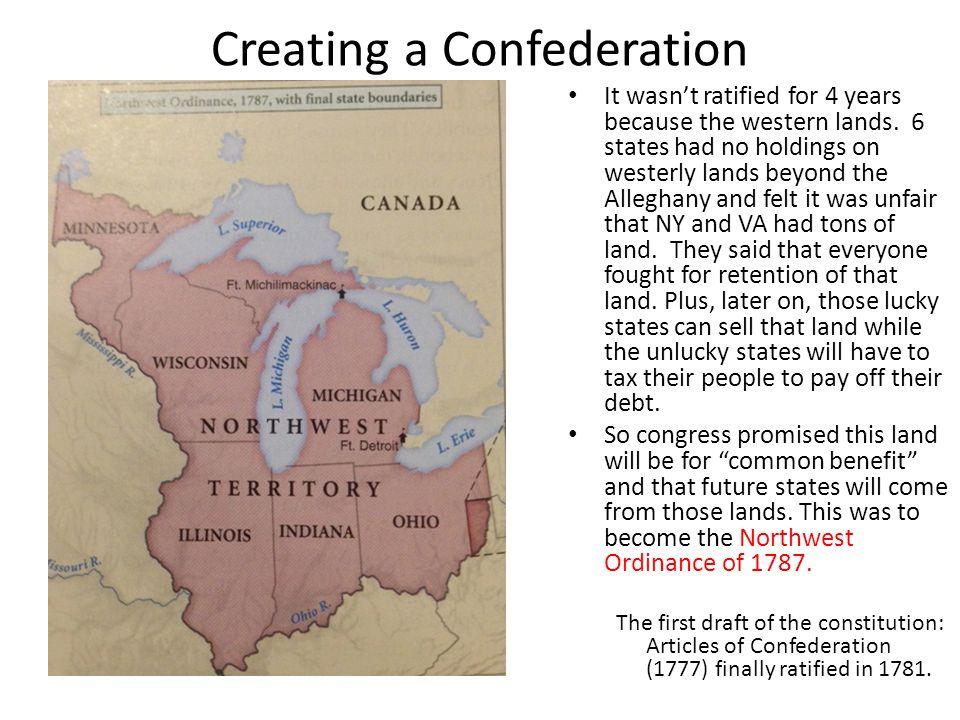 Creating a Confederation